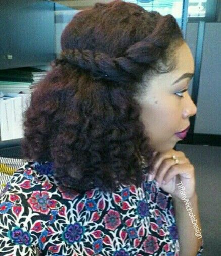 New Styles For Natural Hair Amazing 6328 Best Natural Hair Images On Pinterest  Natural Hair Natural .