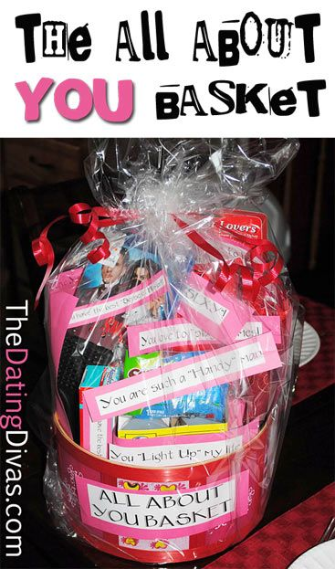 How To Compile An All About You Gift Basket Gifts Pinterest