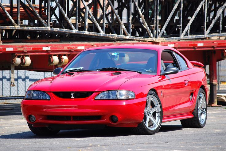 Rio Red Sn95 Cobra On 18 U0026quot  Saleen Wheels