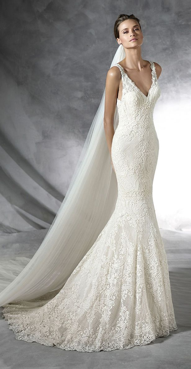This is the dress i just bought for my wedding. The picture truly doesn't do it justice. #Pronovias