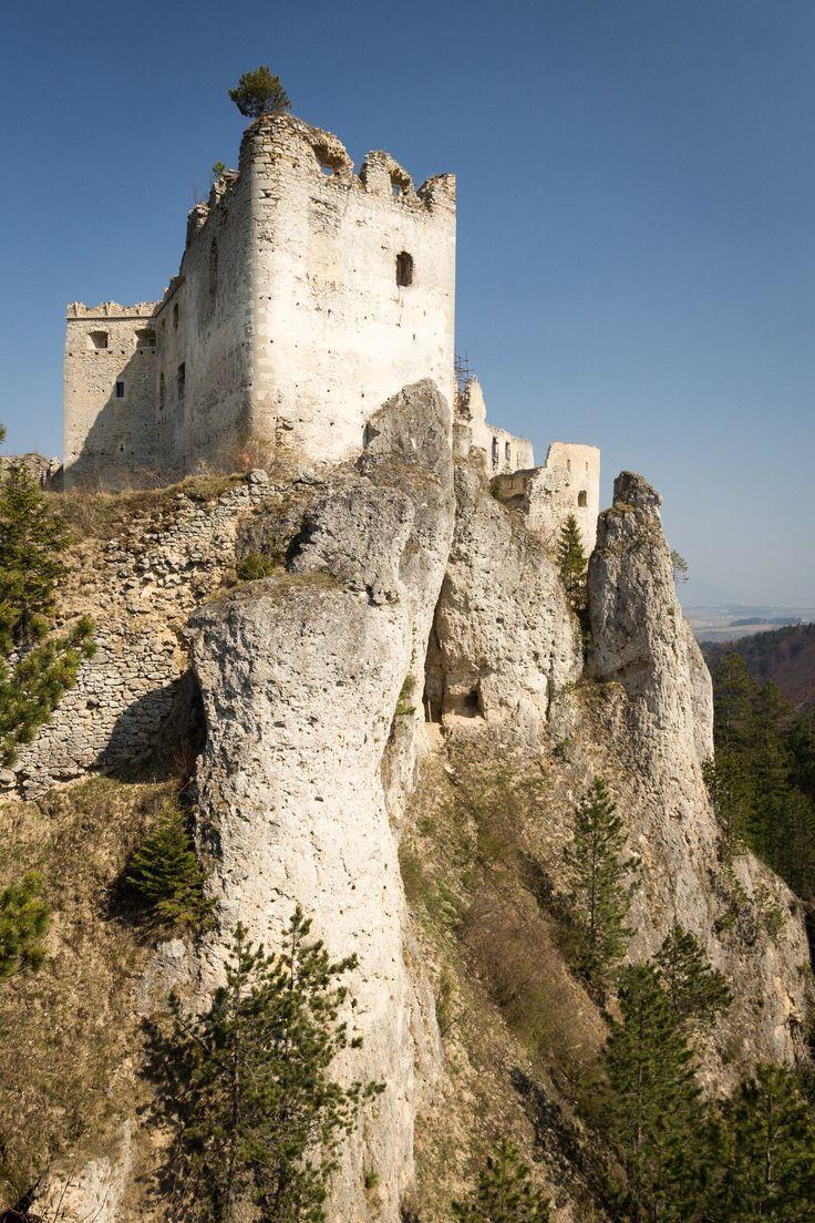 Lietava Castle . Slovakia