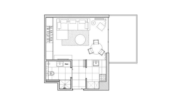 Планировка квартиры 36 квадратных метров