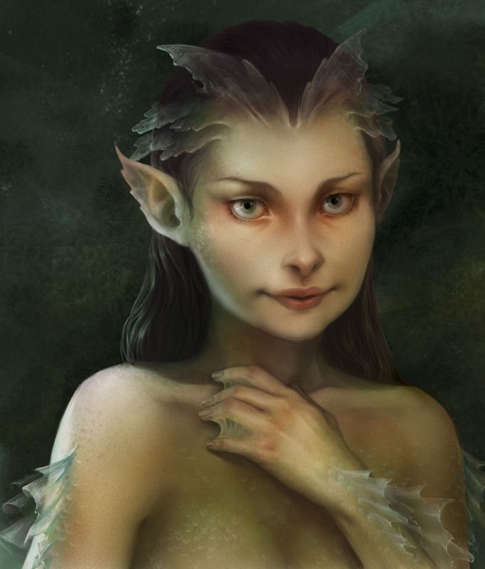 469 best images about fantasy art mermaids seafolk on for Fish smell vagina