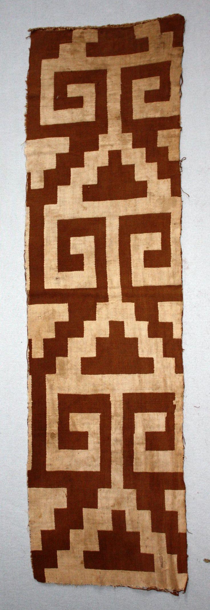 Textile fragment; cotton; Chimu culture, Peru. British Museum, Online Collection.