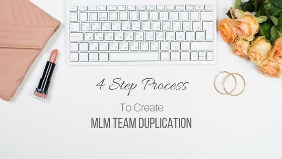 4 Step Process To Create MLM Team Duplication On Facebook
