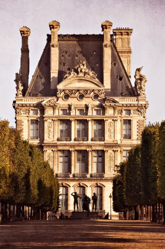 Chateau de luxe chateau de for Jardins tuileries paris france