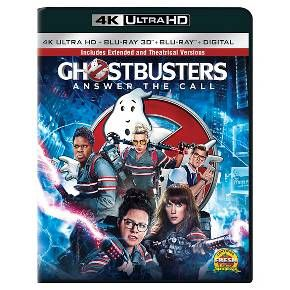 Ghostbusters (2016) (4K/UHD + 3D + Bly-ray + Digital) : Target