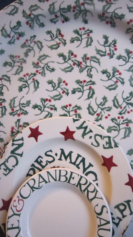 Emma Bridgewater Christmas Display //