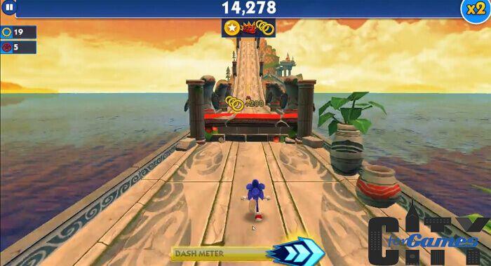 تحميل لعبة سونيك داش Sonic Dash للكمبيوتر من ميديا فاير سيتى فور جيمز Sonic Dash Fun Slide Fun
