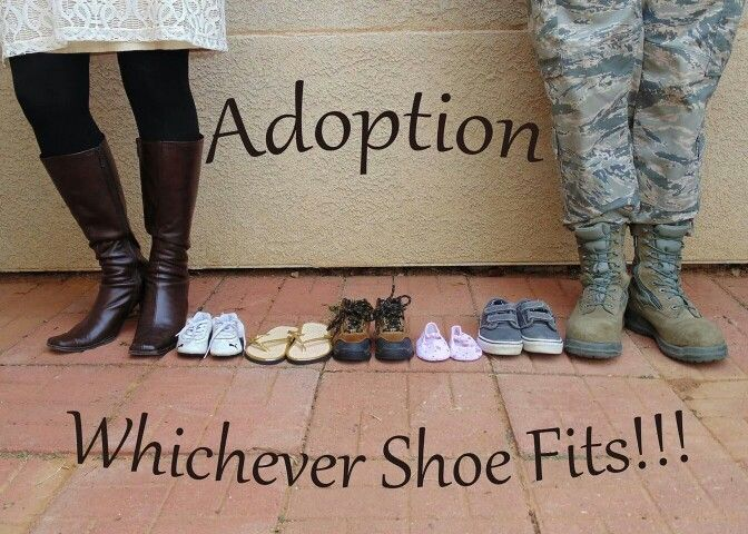 Adoption announcement! We finally announced we are adopting and I love the way the announcements came out!