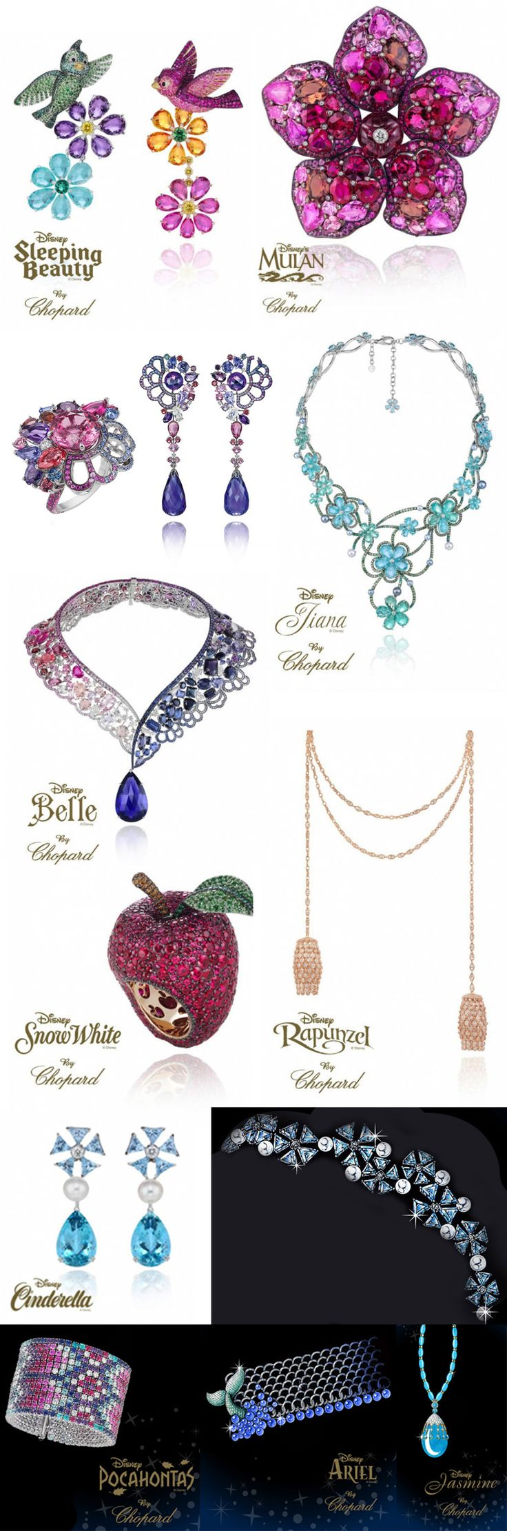 Chopard Disney Princess Jewelry Collection