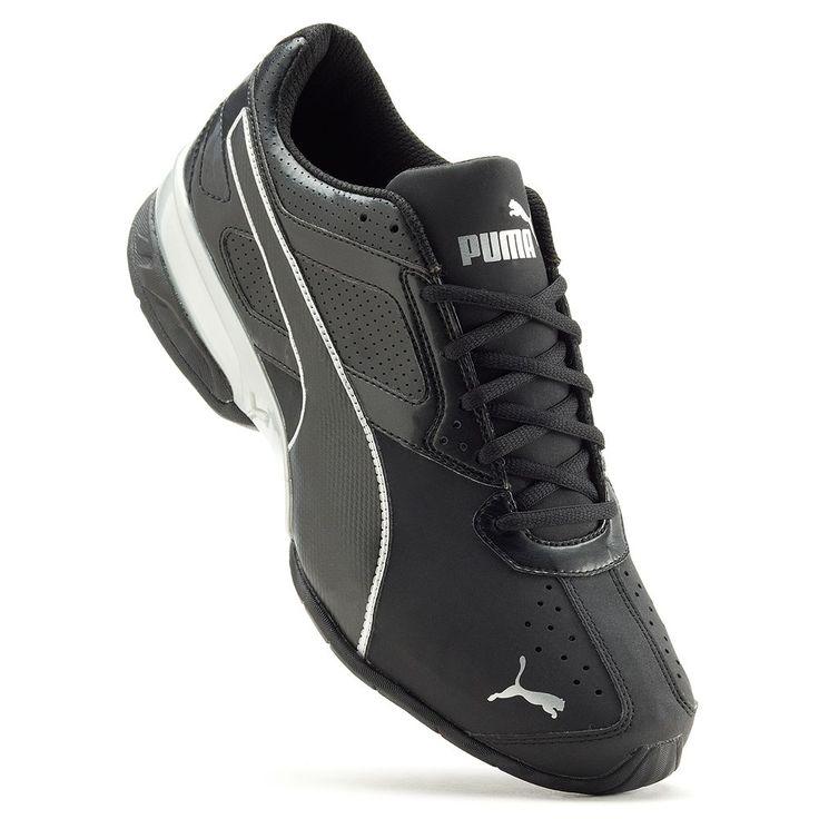PUMA Tazon 6 FM Men's Running Shoes, Size: 10.5 Wide, Black