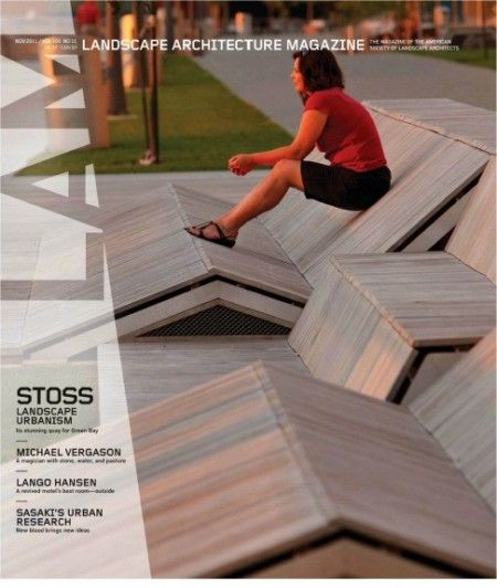 New landscape architecture magazine 2012