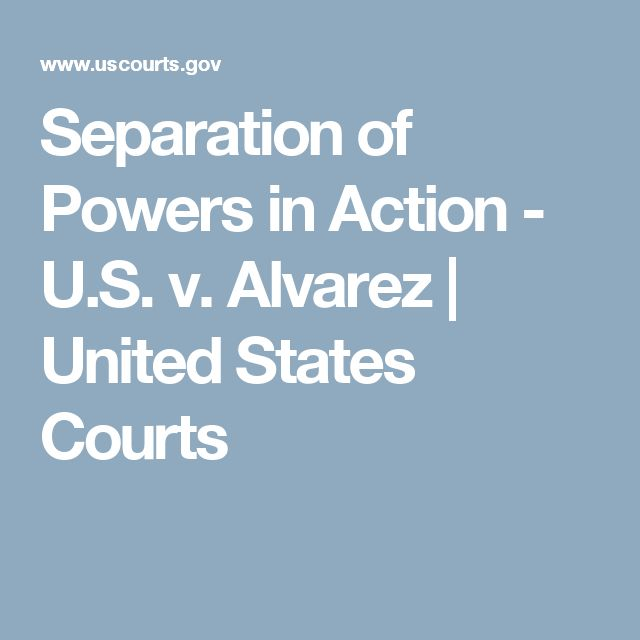 an analysis of the separation of governmental powers in the united states of america Separation of powers essaysover two hundred years ago our founding fathers gathered in philadelphia, pa to rewrite the constitution in rewriting the constitution.