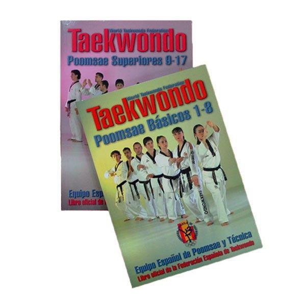 Los Poomsaes presentamos en el primer libro, de 1 a 8, son los llamados fundamentos de Taekwondo, que son esenciales desde los primeros grados hasta el cinturón negro.