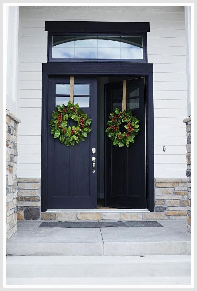 35 Reference Of Craftsman Front Door No Glass In 2020 Modern Exterior Doors Double Front Entry Doors Craftsman Front Doors