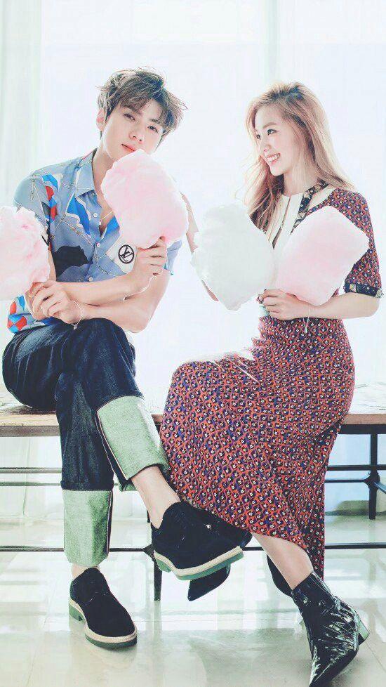 Sehun EXO & Irene Red Velvet Photoshoot #kpop