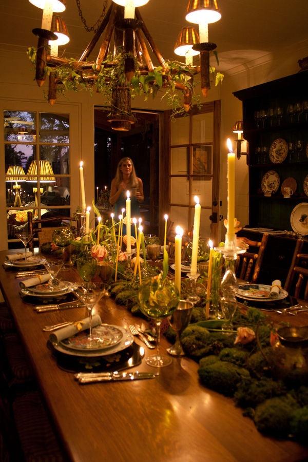 christmas feast table - photo #48