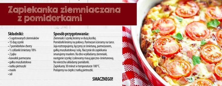 Zapiekanka ziemniaczana z pomidorami