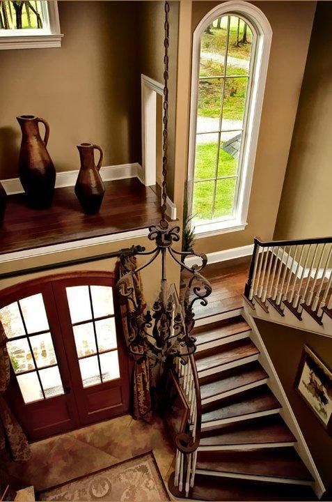 Dark Brown Reclaimed Pine Wood Flooring