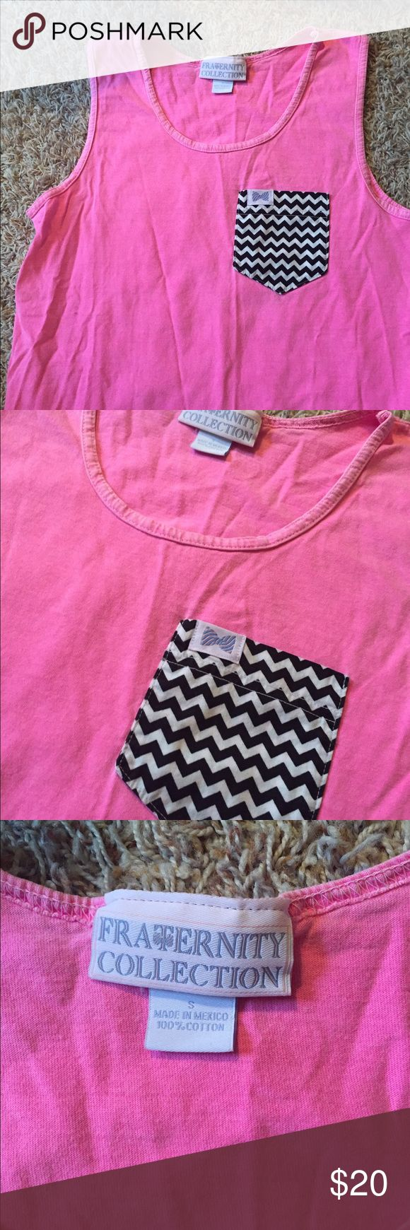 Fraternity collection tank In excellent condition Vineyard Vines Tops Tank Tops