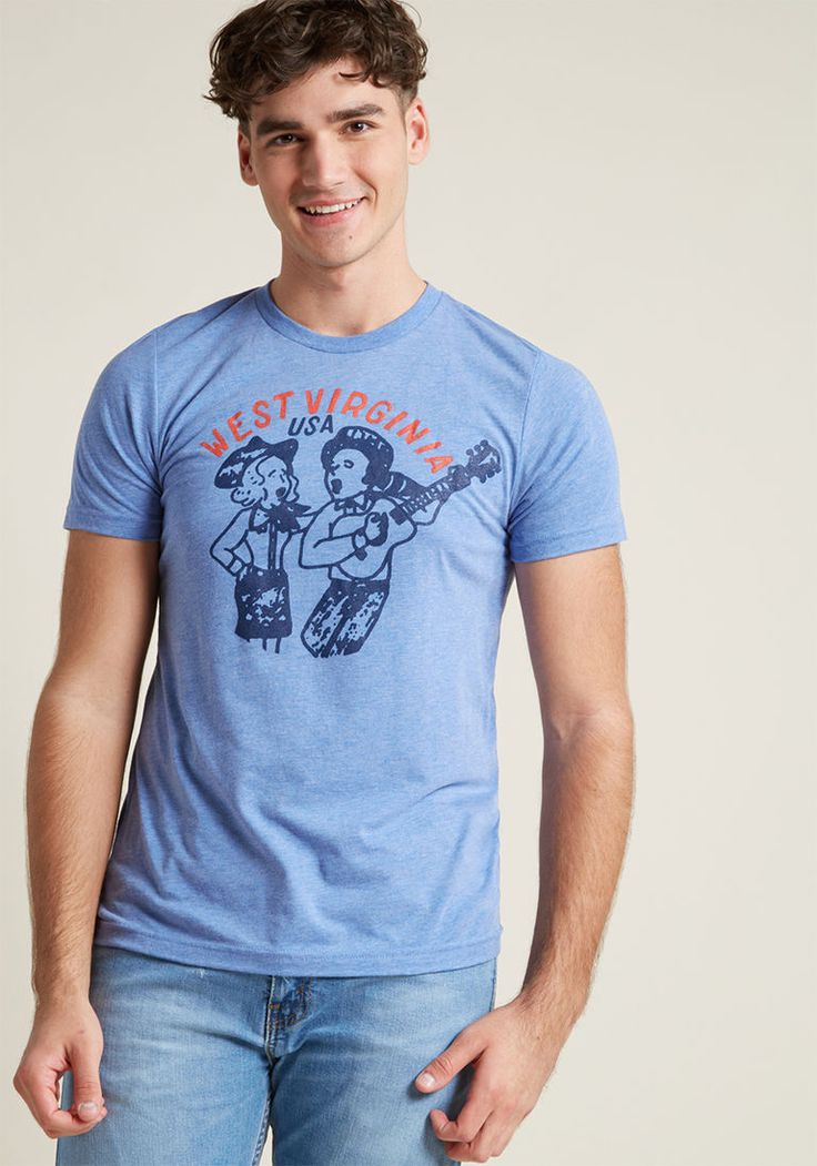 Styled and Wonderful Men's Graphic Tee in XXL by Kin Ship from ModCloth