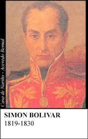 1819 - 1830 / 1827 - 1830 -  General Simón Bolívar Palacios °Nació en Caracas el 24 de julio de 1783 y murió en Santa Marta el 17 de diciembre de 1830. °Jefe supremo de la República y capitán general de los ejércitos de Venezuela y de la Nueva Granada °1820 firmó en Santa Ana el tratado de armisticio y regularización de la guerra y comenzó las campañas de Venezuela, Ecuador y Perú. °Expulsó al ejército español en 1824 y ayudó a la liberación de cinco países.