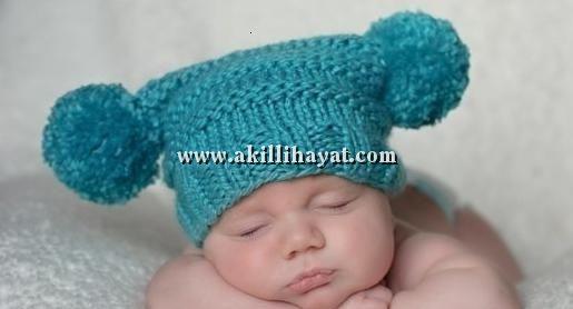 yeni doğmuş bebekler için örgü soytarı şapkası - beresi modeli yapılışı