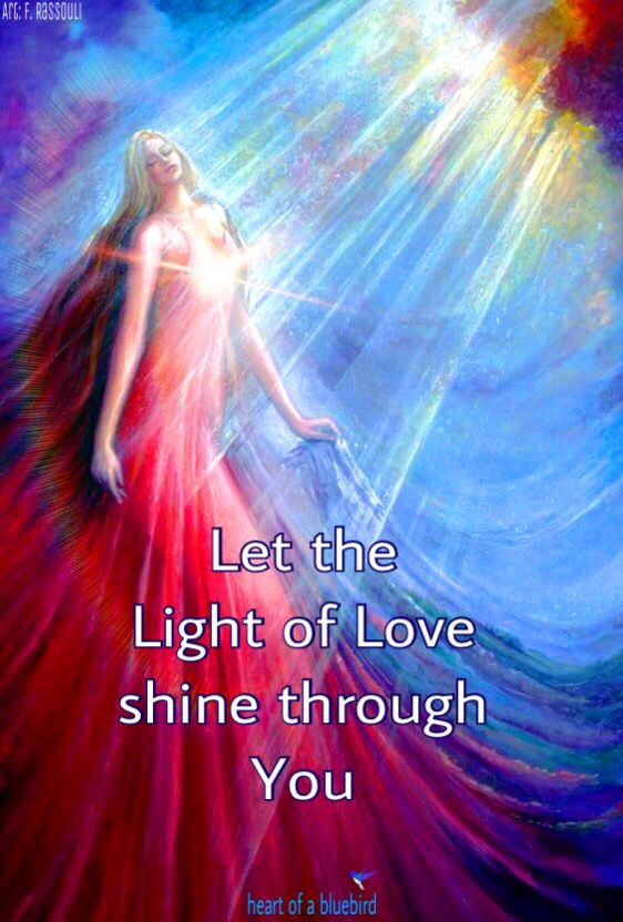 our divine light ...
