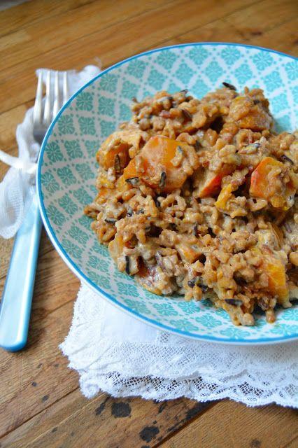 Rosenoisettes calme et gourmandises riz sauvage et - Cuisiner le potimaron ...