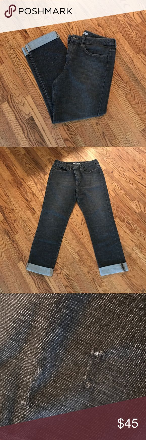 🌾🌷SALE🌷🌾 Chico's Jean Capris 🌾🌷SALE🌷🌾 Excellent Used Condition Chico's Jean Capris. Size 1. Small blemishes made into the pants as pictured. No signs of wear or tear. (*See sale listing for details.*) Chico's Jeans Ankle & Cropped