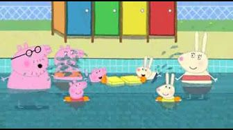 M s de 25 ideas incre bles sobre peppa pig swimming pool for Peppa pig en piscina