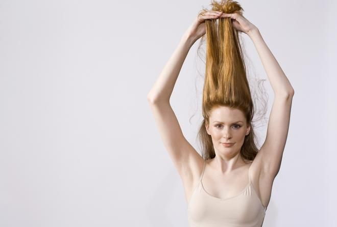 Two tone hair DIY