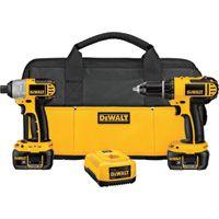FREE SHIPPING — DEWALT Cordless Drill/Impact Driver Kit — 18V, Model# DCK265L