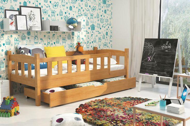 Kinderbett Levin mit großem Bettkasten in 2 unterschiedlichen Dekoren Diese Kinderbetten unterscheiden sich von anderen in Kreativität, Schönheit und durch den Einsatz natürlicher...  #kinder #kinderzimmer #kinderbett #bettkasten