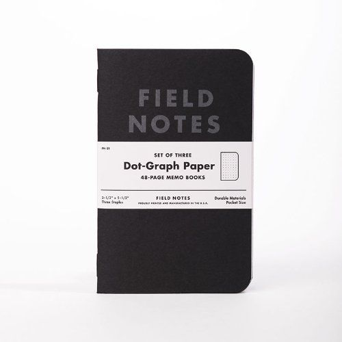 Every bag, not just a GHB, should have a pad and pen. This is my go to choice.  Field Notes Pitch Black Edition, 3-Pack Dot-Grid Memo Notebooks Field Notes