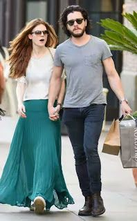 Welcome to Yahya Mubarak's blog: Game of Thrones Kit Harington and Rose Leslie Show...