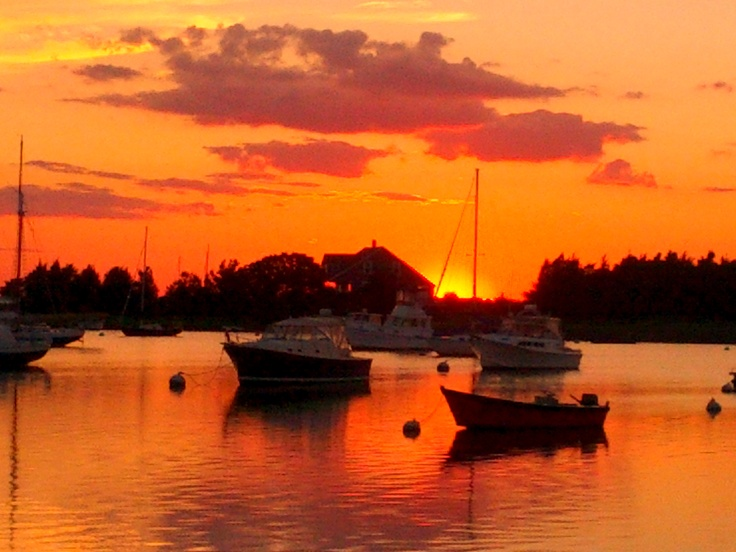 Image result for Sunset Boston MA