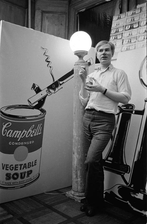 Andy Warhol  For all things Warhol visit ilovewarhol.com