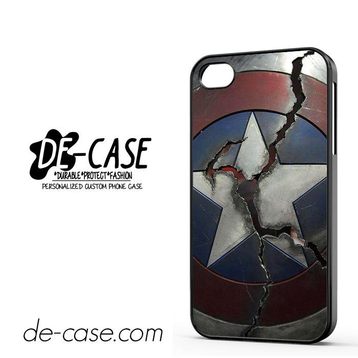 Captain America Broken Shield DEAL-2343 Apple Phonecase Cover For Iphone 4 / Iphone 4S