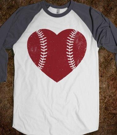 Baseball Love Shirt Baseball Shirt Tee Ball by HookDesignandSinker