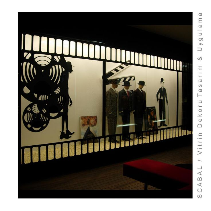 Scabal Display Window/Designed by Cem İnci
