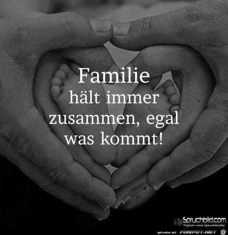 Familie haelt immer zusammen