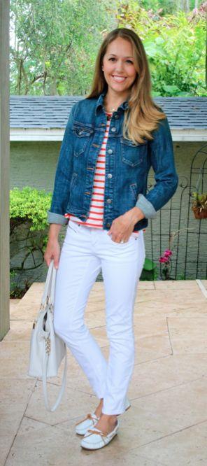 189 best How to Wear: Denim Jacket images on Pinterest | Denim ...