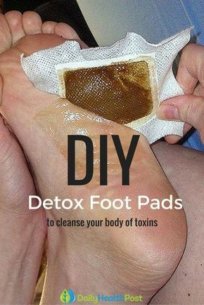 Find Out How To Make Detox Foot Pads At Home To Cleanse Your Body Of Toxins...