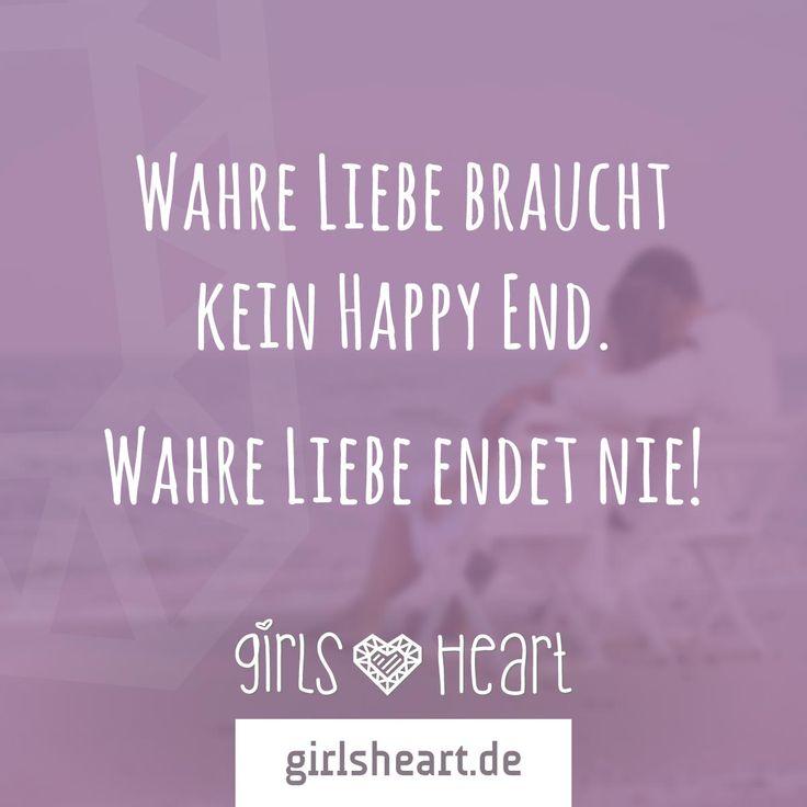 Mehr Sprüche Auf: Www.girlsheart.de #liebe #happyend #partner