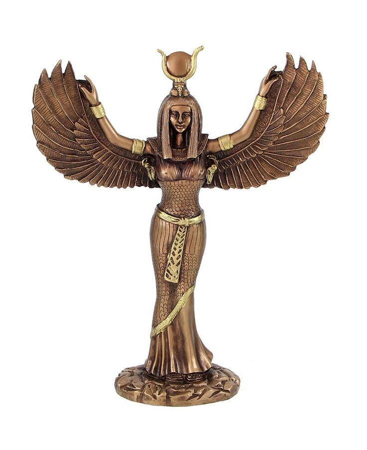 Ísis (em egípcio: Auset) foi uma deusa da mitologia egípcia, cuja adoração se estendeu por todas as partes do mundo greco-romano. Foi cultuada como modelo da mãe e da esposa ideais,