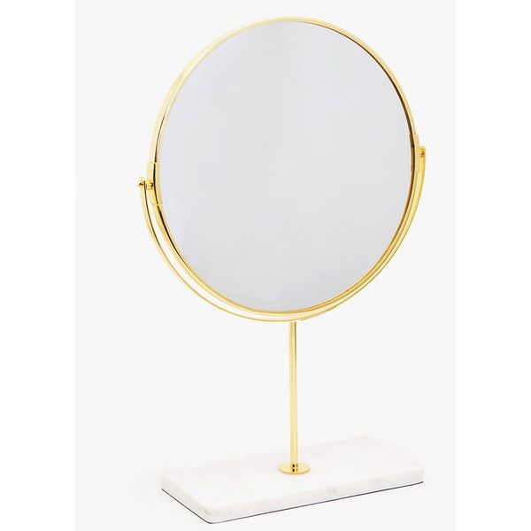 FREESTANDING MIRROR WITH MARBLE BASE -  | Zara Home Sverige / Sweden (110 BRL) ❤ liked on Polyvore featuring home, home decor, mirrors, zara home and freestanding mirror