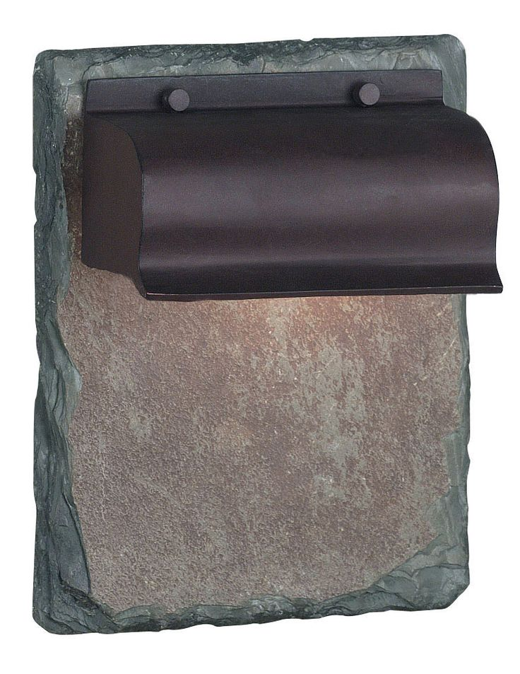 Retron - Retron is modern and traditional at once. The cast aluminum shade finished in Copper evokes the shape of old fashioned piano lamps, while the natural slate backplate gives a rustic, understated feel.*Cast Aluminum*Natural Slate