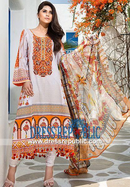 Mahnoush Summer Lawn 2014 Pakistani Lawn Suits Summer   by www.dressrepublic.com